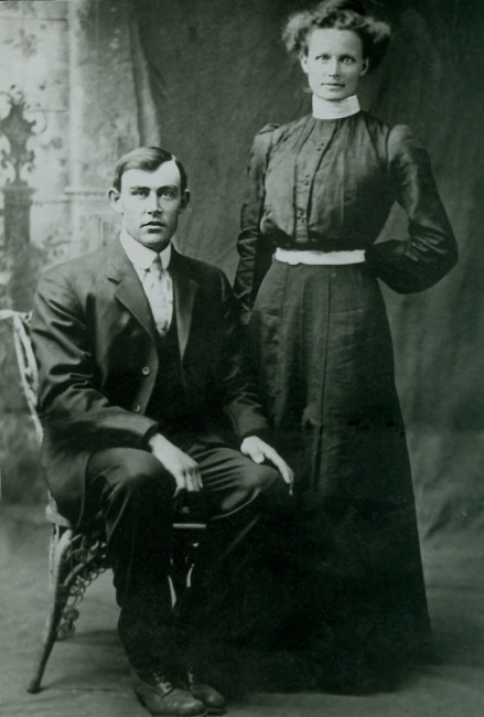 Joseph and Vilate, about 1915